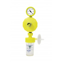 SUCTION CONTROLER  0/-1000mbar with safety jar 134°C+filter UU connector AFNOR or BSI or DIN