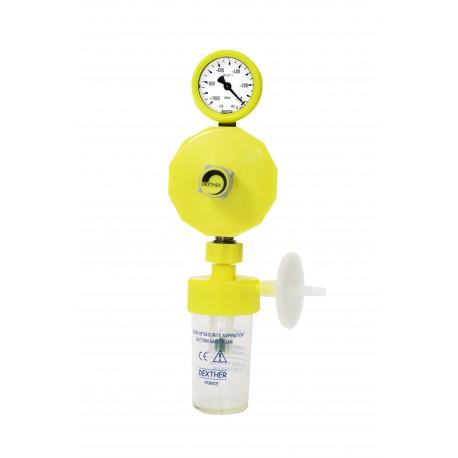 Régulateur de vide  -0/1000mbar complet (flacon de sécurité 134°C+Filtre UU).